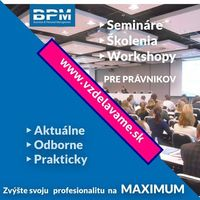 odborné kurzy, semináre a tréningy